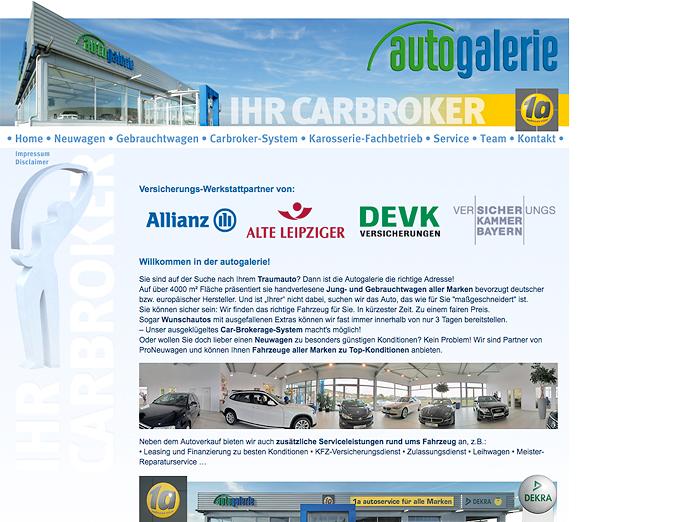 AutoGalerie Schwandorf Homepage