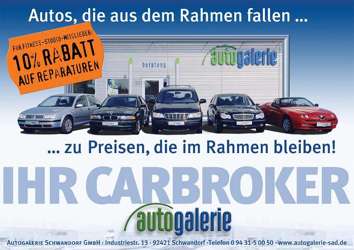 Autogalerie Schwandorf GmbH · Plakat