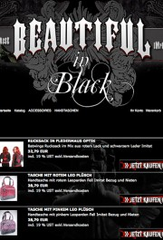 Beautiful in Black : Onlineshop