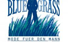 Blue Grass, Mode fuer den Mann : Logo : Wort-Bildmarke