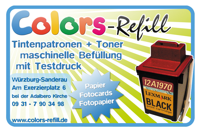 Colors-Refill · Anzeige