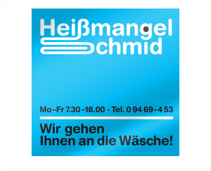 Heissmangel Schmid Logo