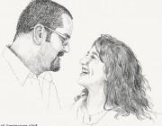Illustration : Bleistift : Portraits