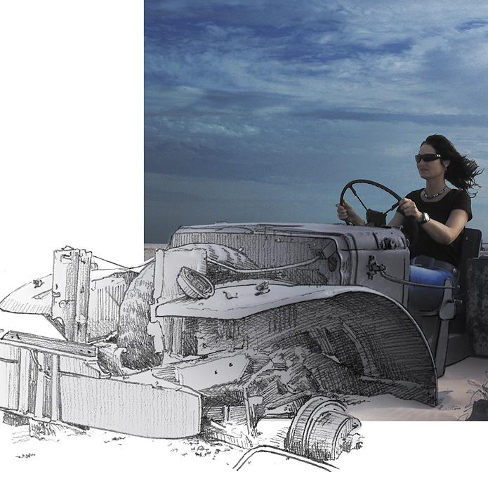 Illustration · Bleistift Composing · Ausschnitt
