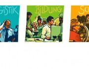 dbo Dienstleistungen und Bildung : Illustrationen : Key Visuals