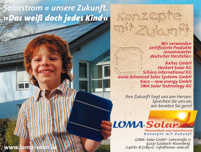 Loma-Solar · Anzeige