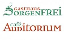 Gasthaus Sorgenfrei : Café Auditorium : Logo : Marke