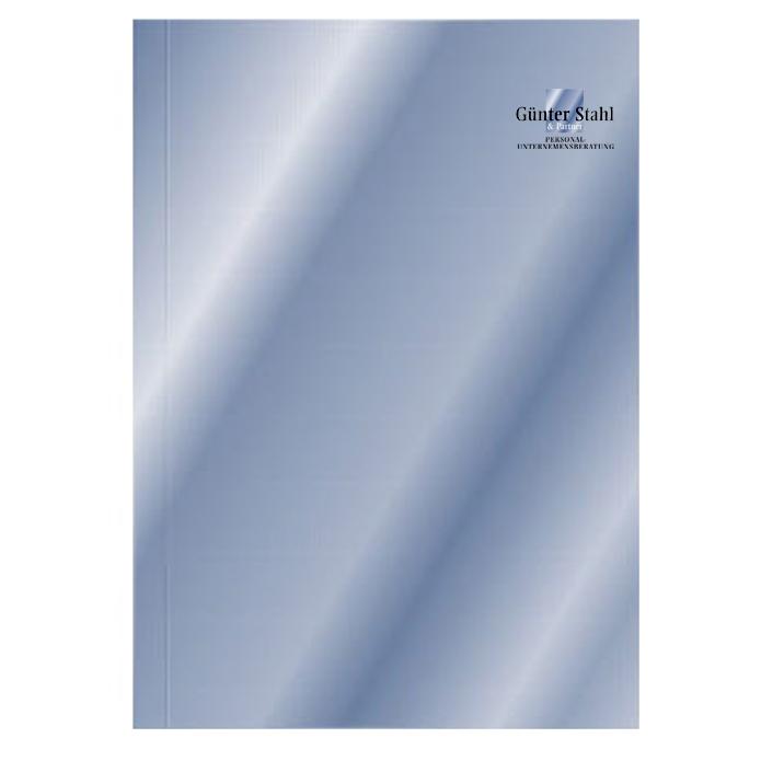 Stahl & Partner Personalberatung · Angebots- & Präsentationsmappe
