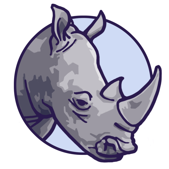 Save The Rhino · Signet · Bildmarke