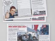 Truck Troubleshooter : Gewinnspiel : Flyer