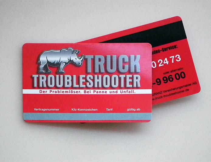 Truck Troubleshooter · Kundenkarte