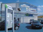 Autogalerie Schwandorf GmbH : Außenwerbung