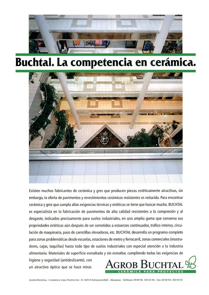 Buchtal GmbH · Anzeige