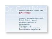 Dr. Gottfried : Visitenkarte