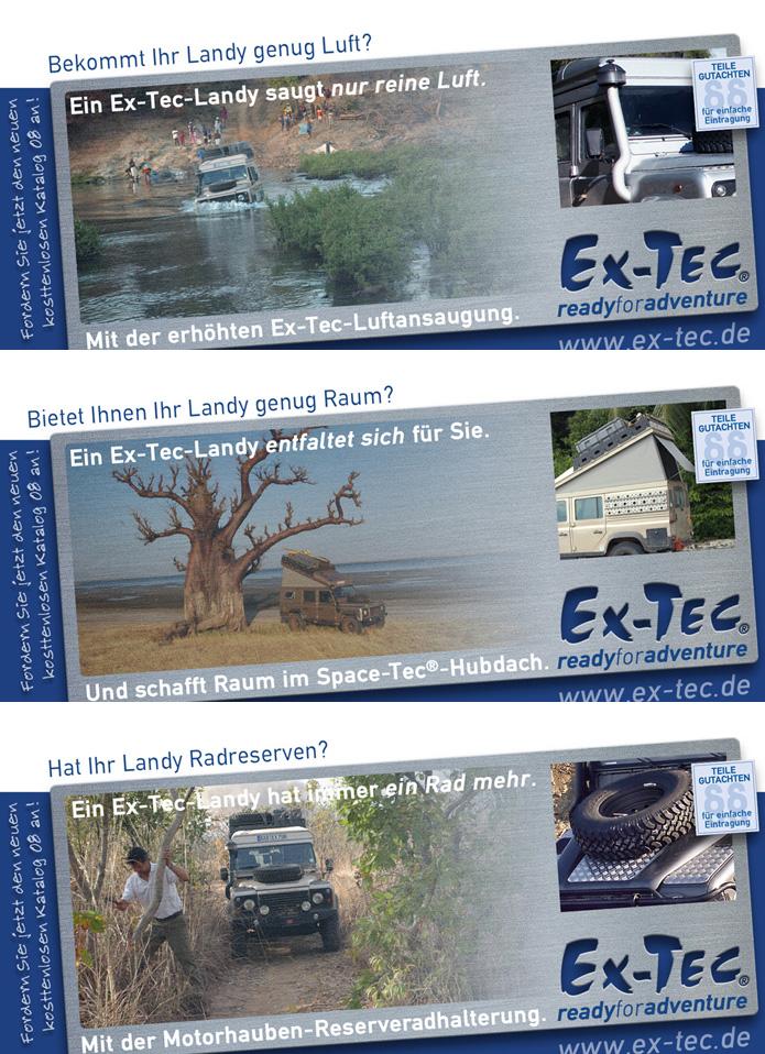 Ex-Tec GmbH · Anzeigenserie