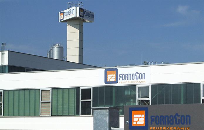 Fornaton Feuerkeramik GmbH · Außenwerbung