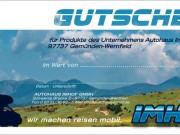 Autohaus Imhof : Gutschein