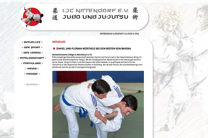 Judoclub Nittendorf · Homepage