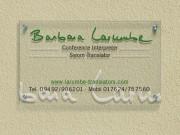 Larumbe translators : Firmenschild