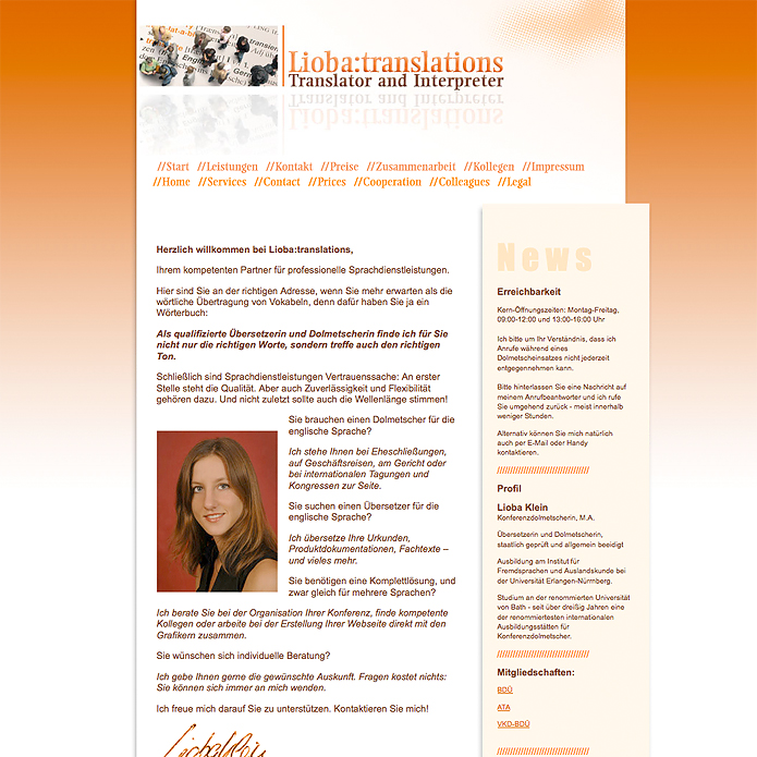 Lioba:translations · Homepage