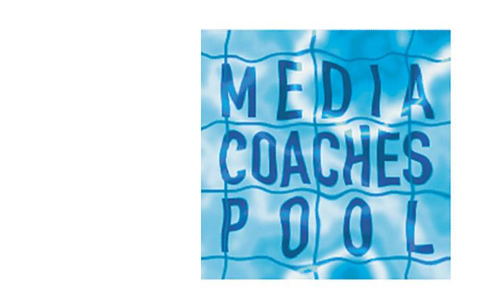MediaCoachesPool · Logo · Wortmarke