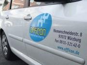 Officon Buerotechnik : Aufkleber : Firmenschild : Fahrzeugwerbung