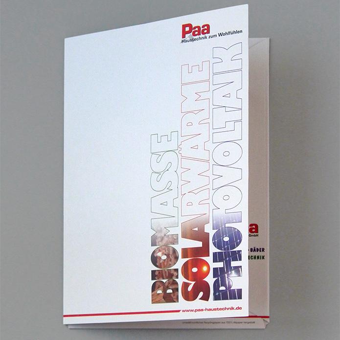 Paa Haustechnik GmbH · Angebotsmappe