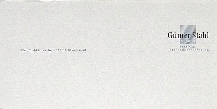 Stahl & Partner Personalberatung : Briefbogen : Visitenkarte