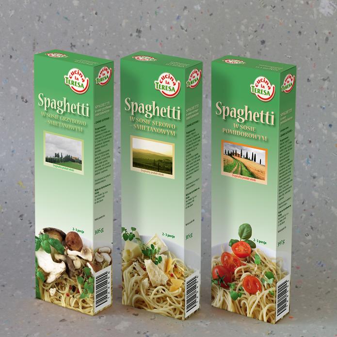Flori GmbH · Spaghetti · Verpackung