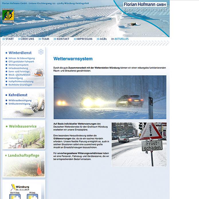 Winterdienst Hofmann · Homepage