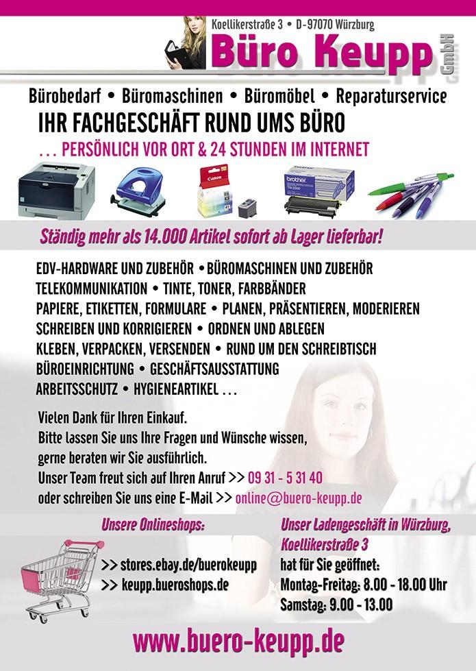 Bürotechnik Keupp GmbH · Flyer