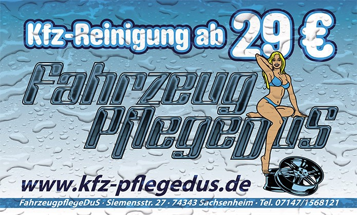 Kfz-PflegeDuS · Spanntransparent