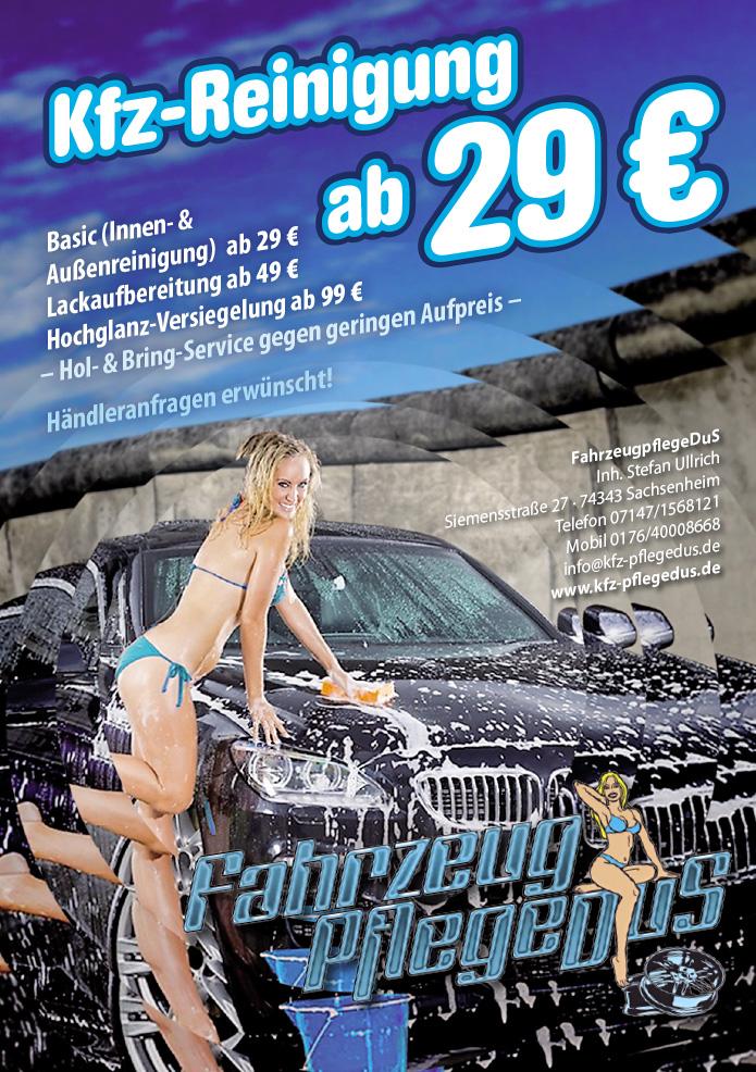 KFZ-Teile DuS · Flyer