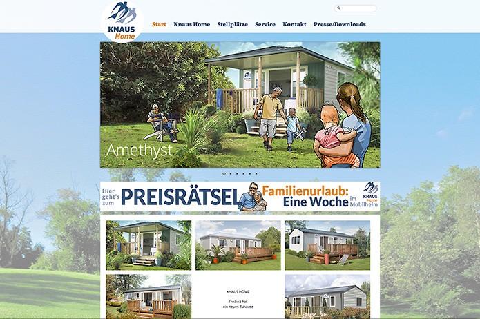 Knaus Home · Homepage