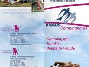 Knaus KG Campingparks : Folder