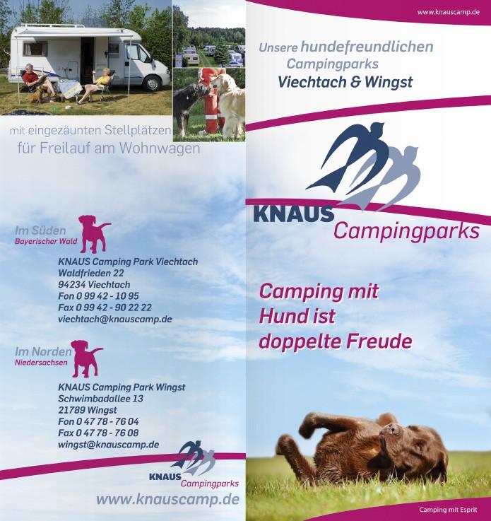 Knaus KG Campingparks · Folder