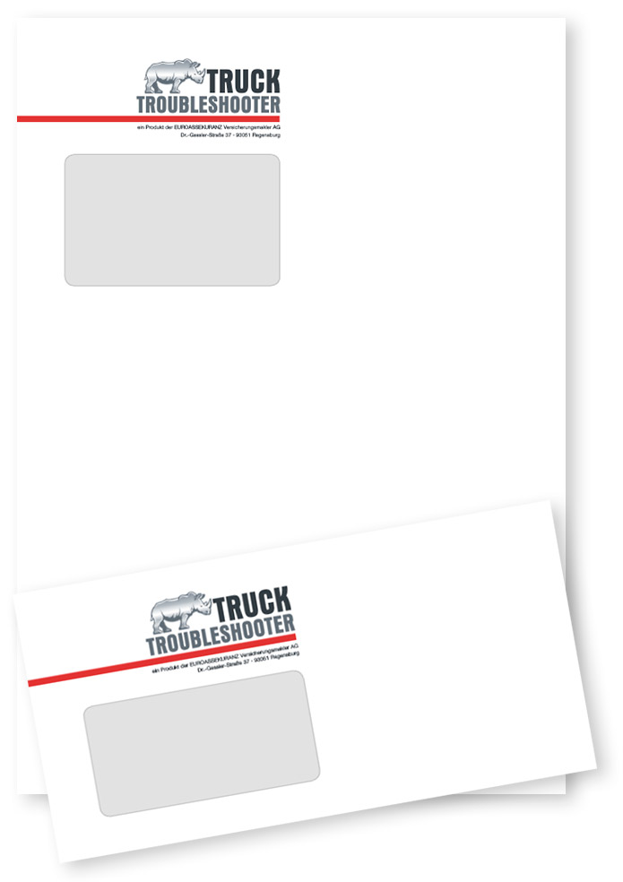 Truck Troubleshooter · Versandhüllen
