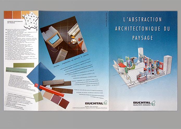 Buchtal GmbH · Messeprospekt