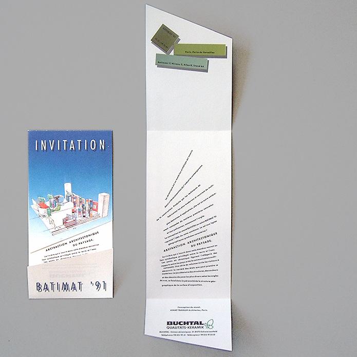 Buchtal GmbH · Einladung