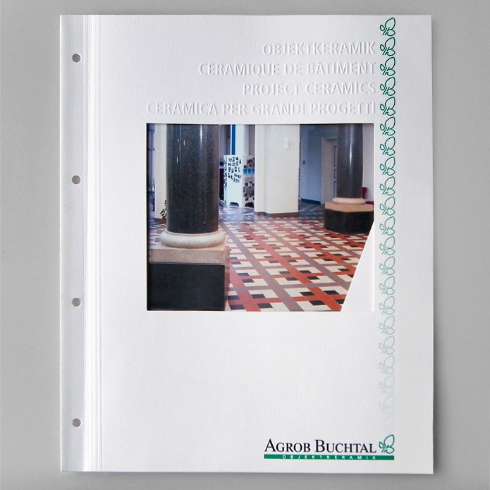 Buchtal GmbH · Mappen · Flyer