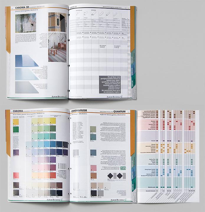 Buchtal GmbH · Preisliste · Katalog · Innenseiten