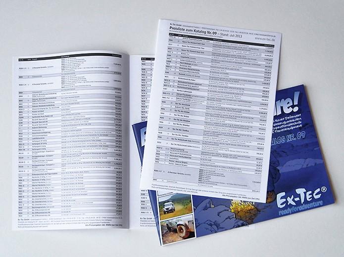 Ex-Tec GmbH · Preisliste