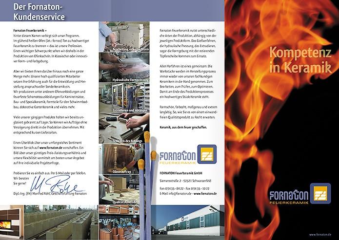 Fornaton Feuerkeramik GmbH · Folder