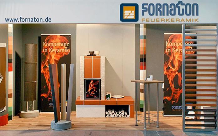 Fornaton Feuerkeramik GmbH · Messestand