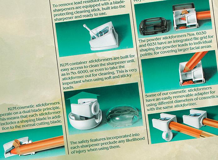 KUM GmbH & Co KG : Prospekt : Illustrationen