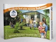 Knaus KG Campingparks : Messedisplay : Faltwand Curved