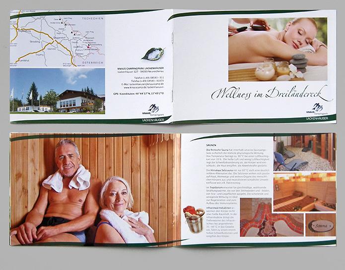Knaus KG Campingparks · Booklet · Wellness