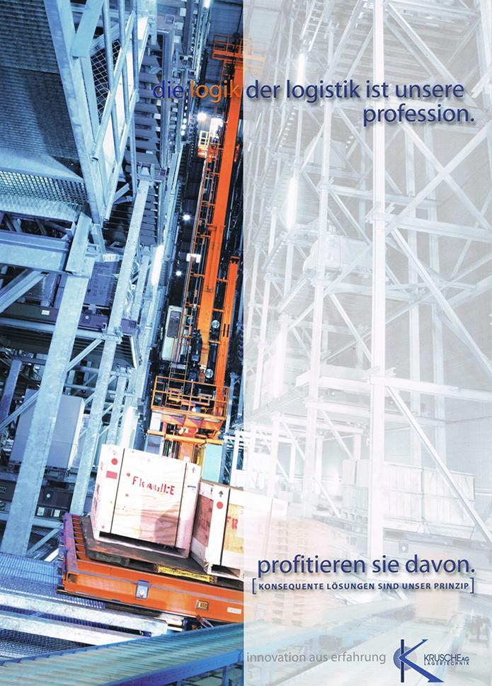 Krusche Lagertechnik AG · Prospektfolder