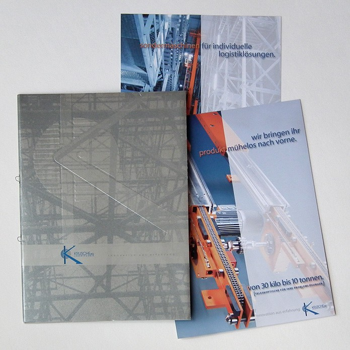 Krusche Lagertechnik AG · Angebots- und Prospektmappe