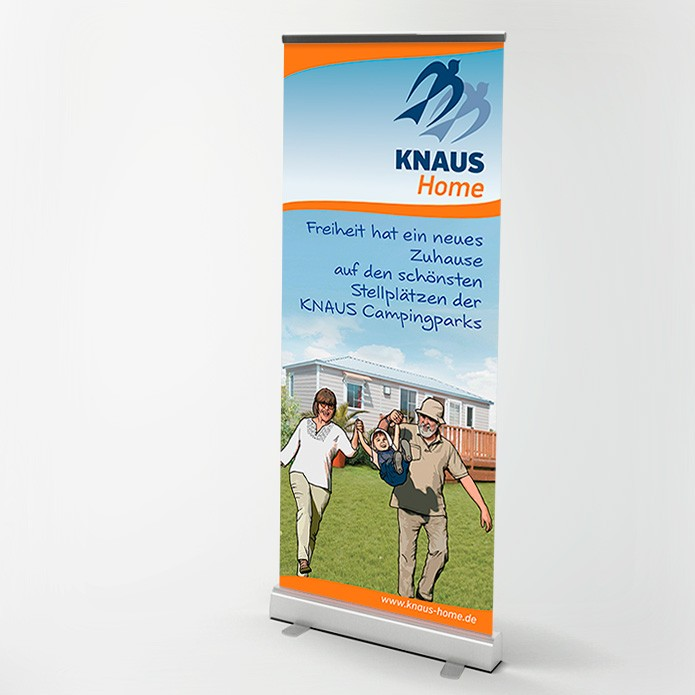 Knaus KG Campingparks · Roll-Up